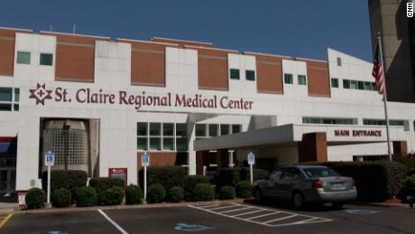 St. Claire Regional Medical Center in Morehead, Kentucky, is currently 130% above capacity.