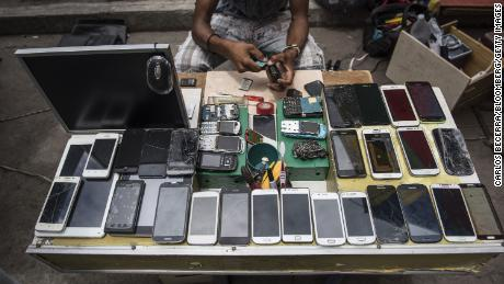 When devices are disposed of, they often contribute to the growing e-waste problem overseas – an environmental and human rights issue.