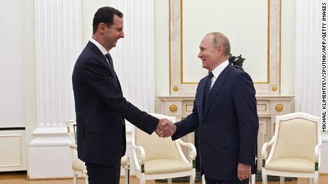 Putin also met Syrian President Bashar al-Assad in Moscow on Monday.