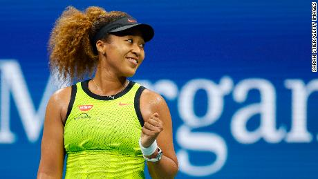 Naomi Osaka, whose name also appears on Time's list, sparked a discussion about mental health this year.