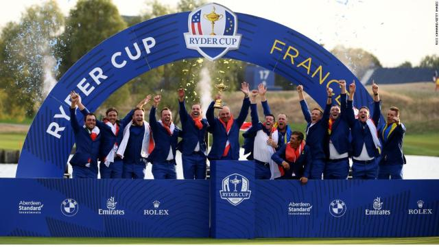 The moments that made the Ryder Cup