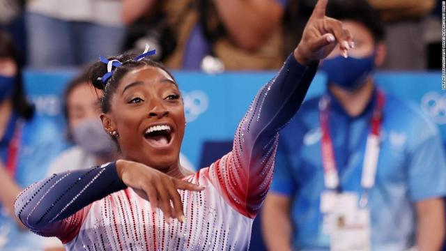 Simone Biles is excited for highly-anticipated Gold Over America Tour