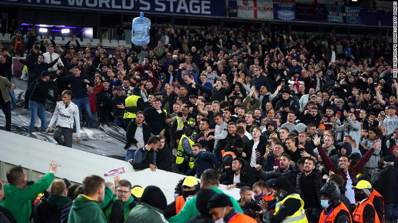 Europa League Fixtures Are Once Again Hampered By Crowd Disturbance 1