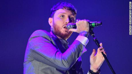 James Arthur performs onstage during Key 103 Live, held at the Manchester Arena in Manchester, England, November 9, 2017.