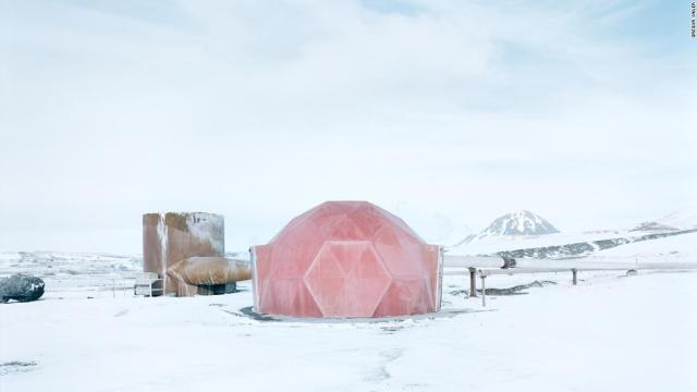 Striking photos capture the Arctic's remotest buildings