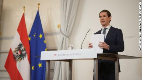 Sebastian Kurz resigned his position as Austrian Chancellor on October 9, 2021, after he was implicated in a corruption scandal.