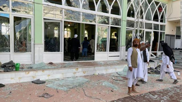 More than 30 killed as suicide attack rocks mosque in Afghanistan's Kandahar