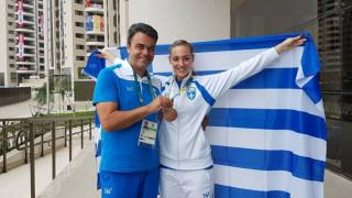 Ρίο 2016: αποθεωτική υποδοχή για την χάλκινη Ολυμπιονίκη Άννα Κορακάκη