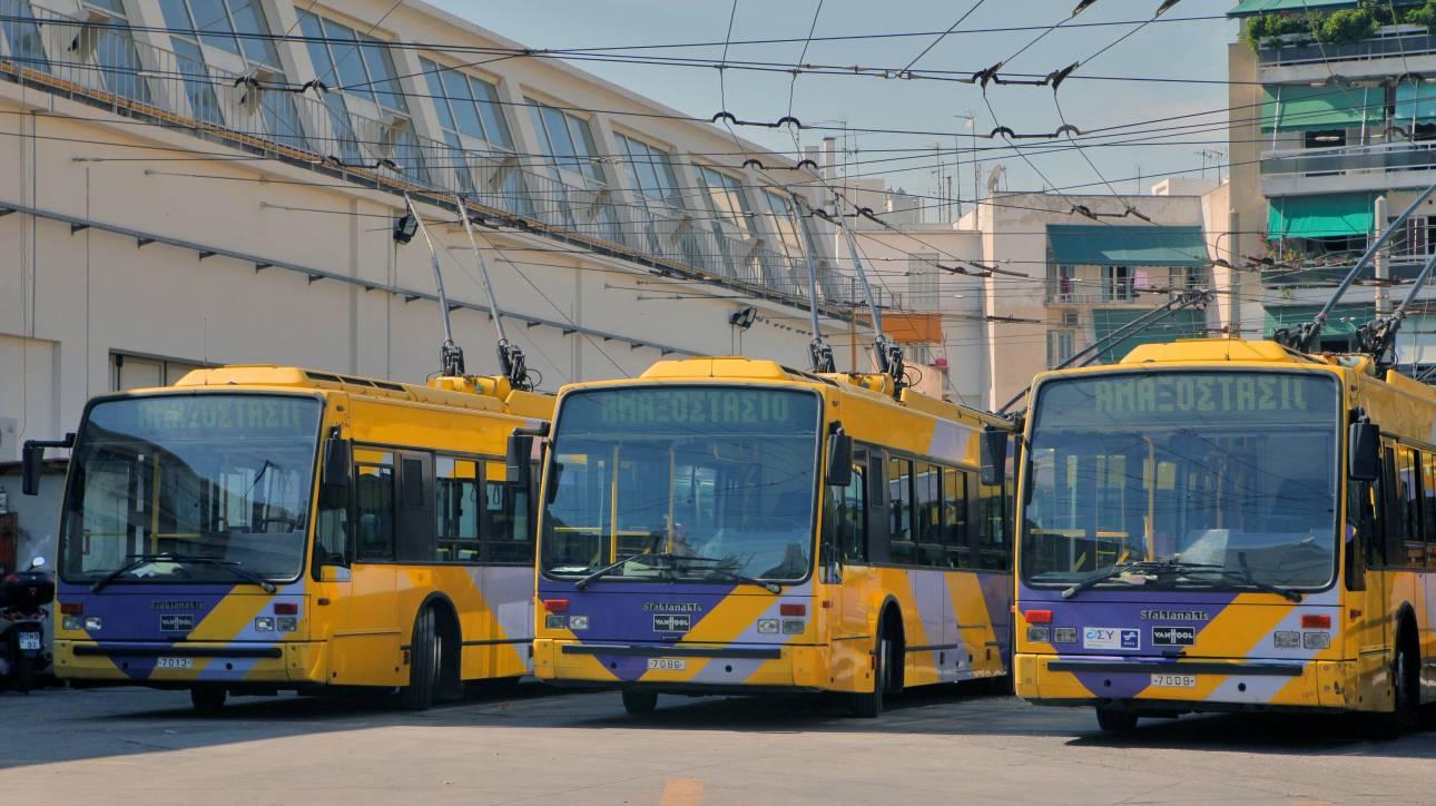Τροποποιήσεις στα δρομολόγια λεωφορείων και τρόλεϊ στην Αθήνα