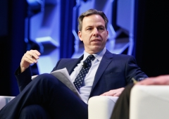CNN's Jake Tapper speaks onstage at CNN's Jake Tapper in conversation with Bernie Sanders during SXSW at Austin Convention Center on March 9, 2018 in Austin, Tex. (Photo credit: Steve Rogers Photography/Getty Images for SXSW)