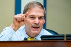 Rep. Jim Jordan (R-Ohio). (Photo by TOM WILLIAMS/POOL/AFP via Getty Images)