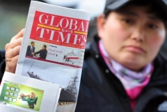 Global Times is an organ of the Chinese Communist Party (Photo by Frederic J. Brown/AFP via Getty Images)
