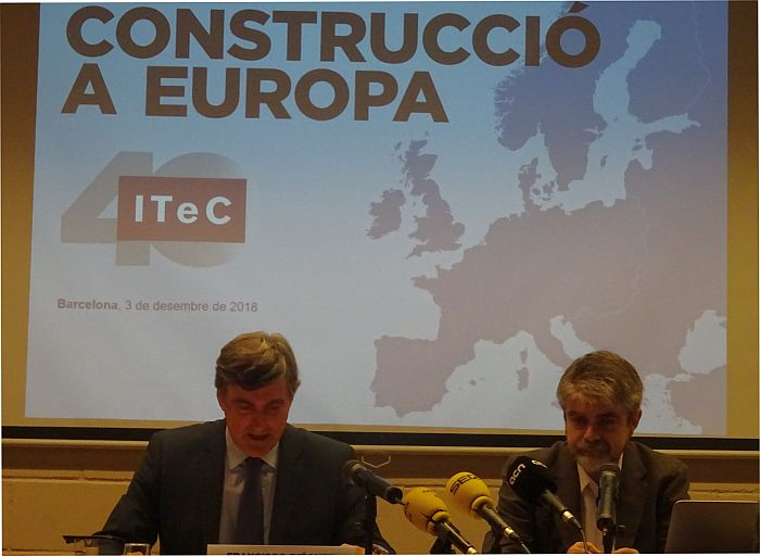 construcción, edificación residencial, Euroconstruct, ITec, rehabilitación, residencial