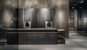 Dada   Molteni & C, Hydra model, Inalco, kitchen countertops, LivingKitchen 2019, Senda collection, Syros collection, Vint collection