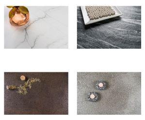 Concrete, Design Command, Food&Roll, granite, Imm Cologne, Mar del Plata, Mont Blanc, Neolith, New York New York, quartzite, Sofía Cuprum, steel