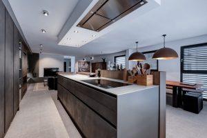 acero corten, cocina Concrete, Global Kitchen Design Award, hormigón fino, Leicht, Leicht Concrete, plataforma inspiracional de Leicht, Ytter Design