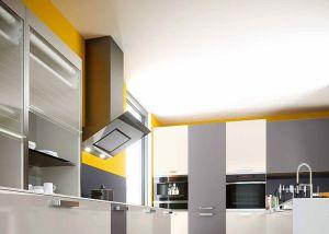 cocinas, mobiliario de cocinas, muebles de cocina, persianas de vidrio, Rauvolet vetro-line 2.0, Rehau, sistema de persianas para muebles