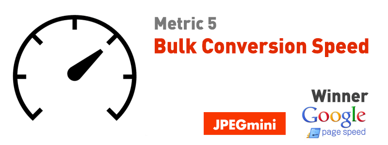Bulk Conversion Speed Jpegmini Pagespeed Winner
