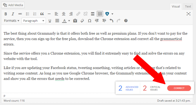 Grammarly Extensions