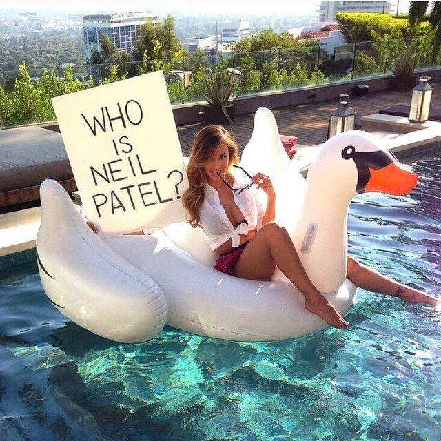 Neil Patel Influencer campaign model