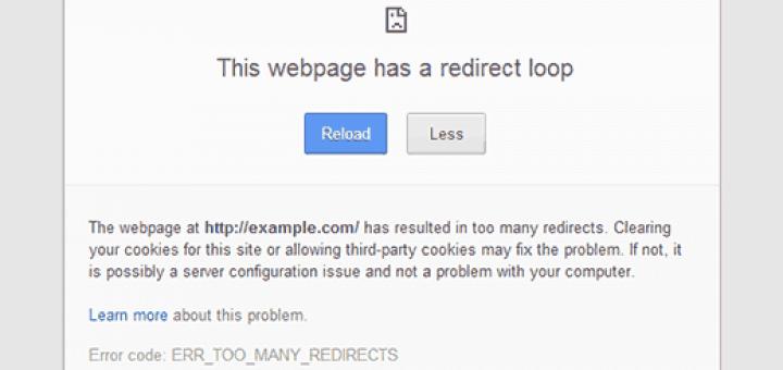 Redirect loop
