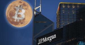 JPモルガン・チェース:仮想通貨は我々の銀行サービスへの脅威である