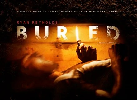 New Poster for BURIED Starring Ryan Reynolds and for KICK