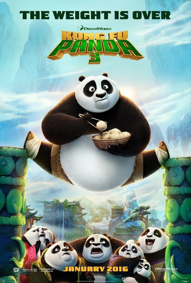 Poster do filme Kung Fu Panda 4