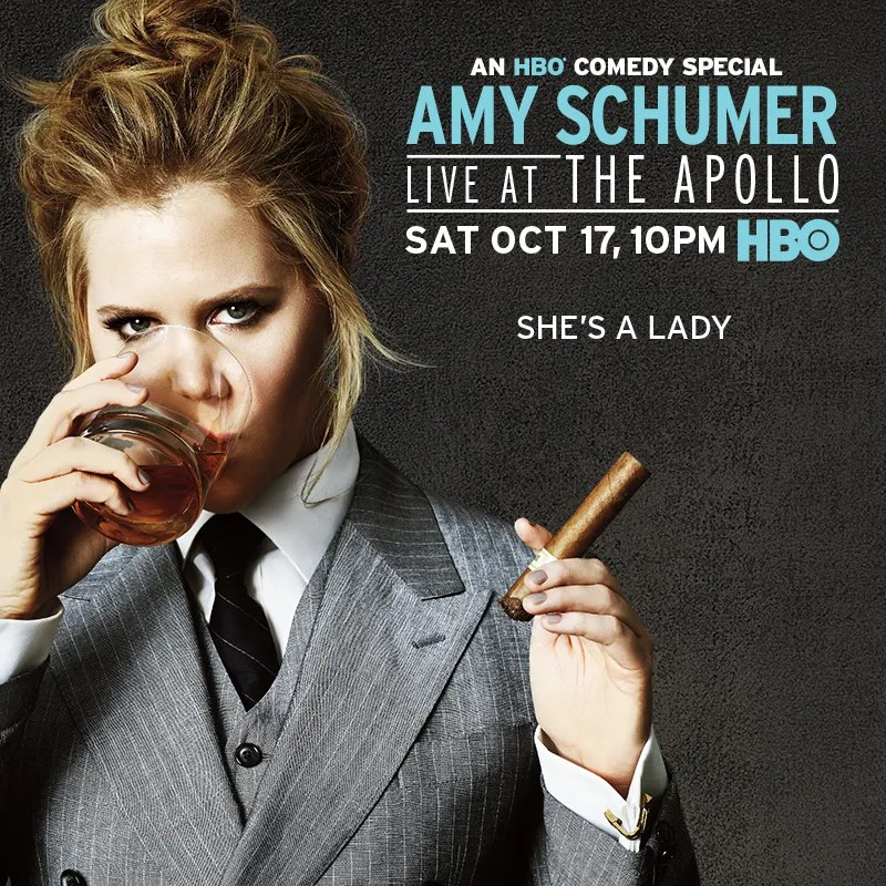 Poster do filme Amy Schumer: Live from the Apollo