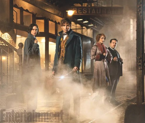Image result for fantastic beasts and where to find them lead characters