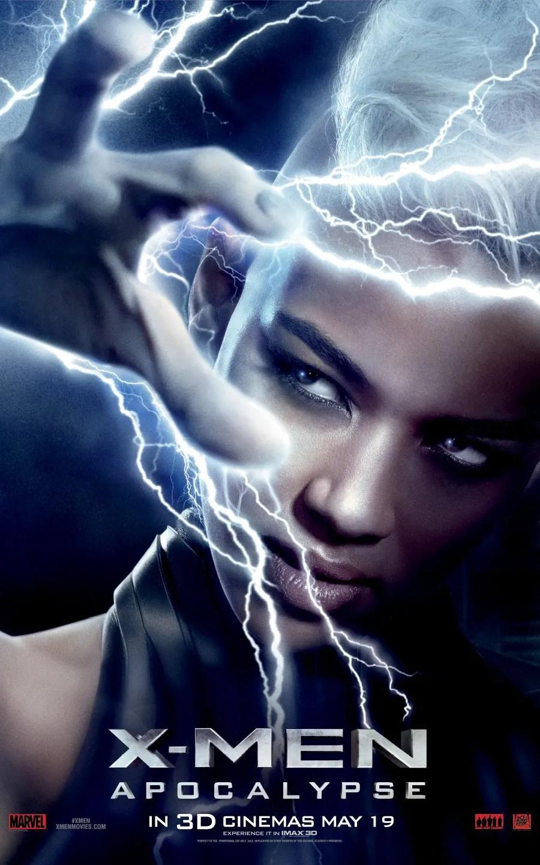 Image result for storm x men poster