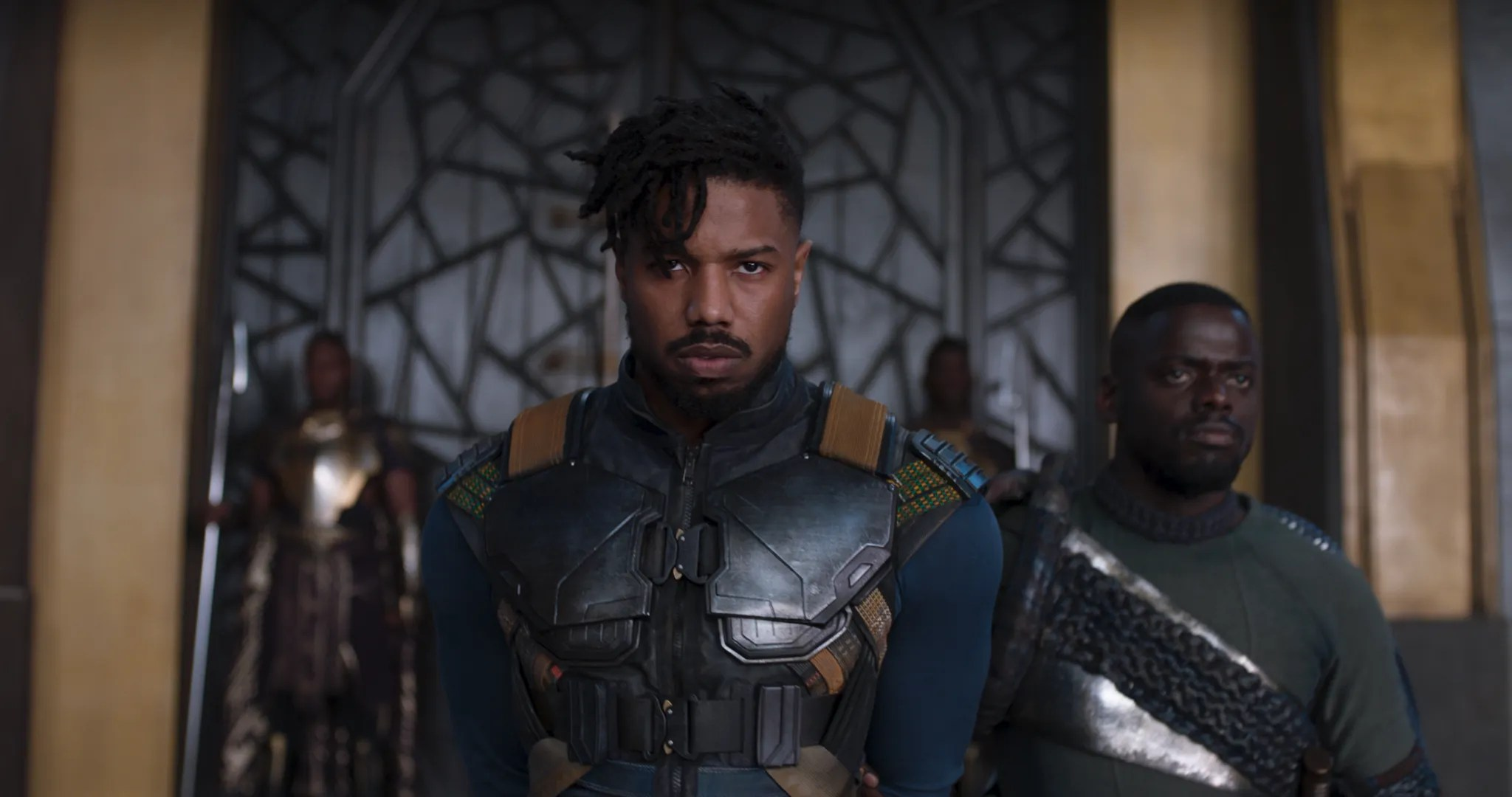 Image result for black panther michael b jordan