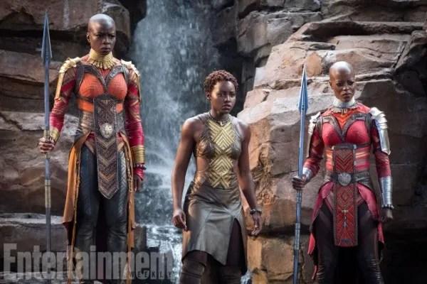 black-panther-movie-danai-gurira-lupita-nyongo-florence-kasumba