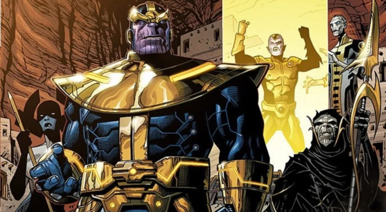Image result for thanos black order