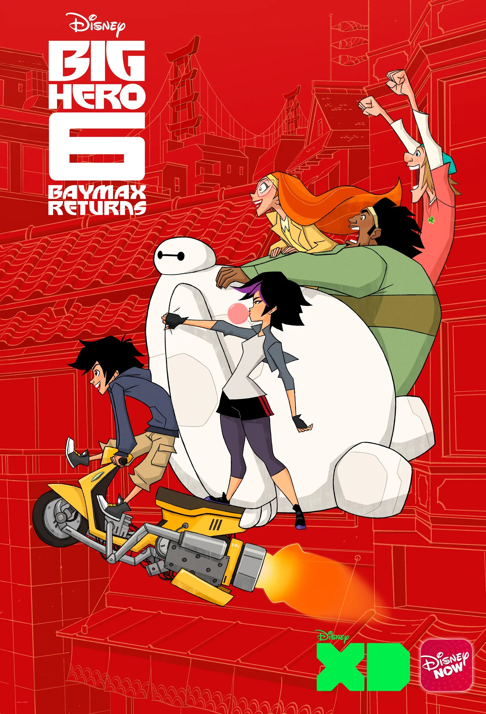 Big Hero 6 Tv Series Movie Release Date Baymax Returns