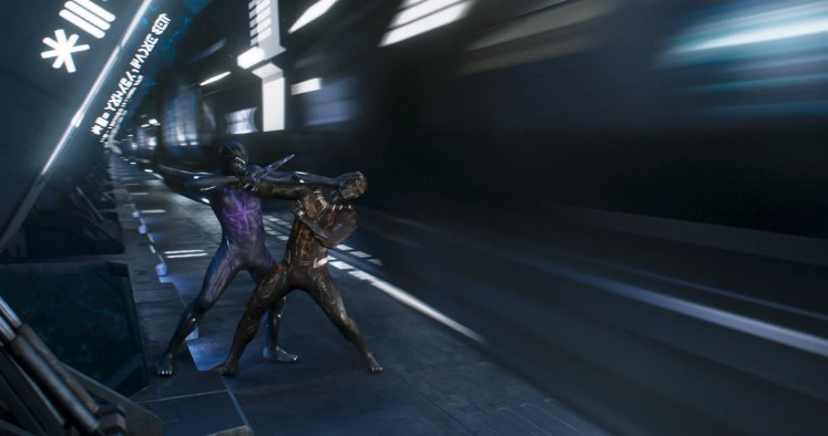 Black Panther trailer scenes ile ilgili görsel sonucu