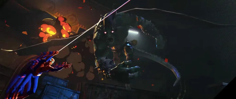 Resultado de imagen para spider-man into the spider-verse ultimate prowler