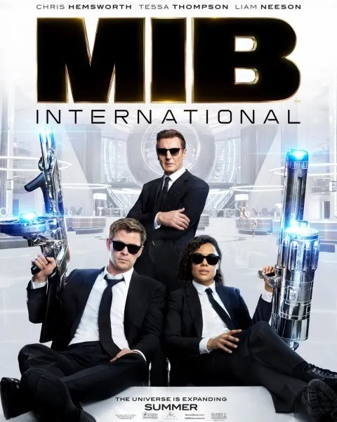 Image result for men in black international poster