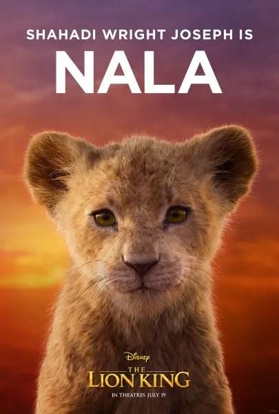 le-lion-roi-affiche-jeune-nala