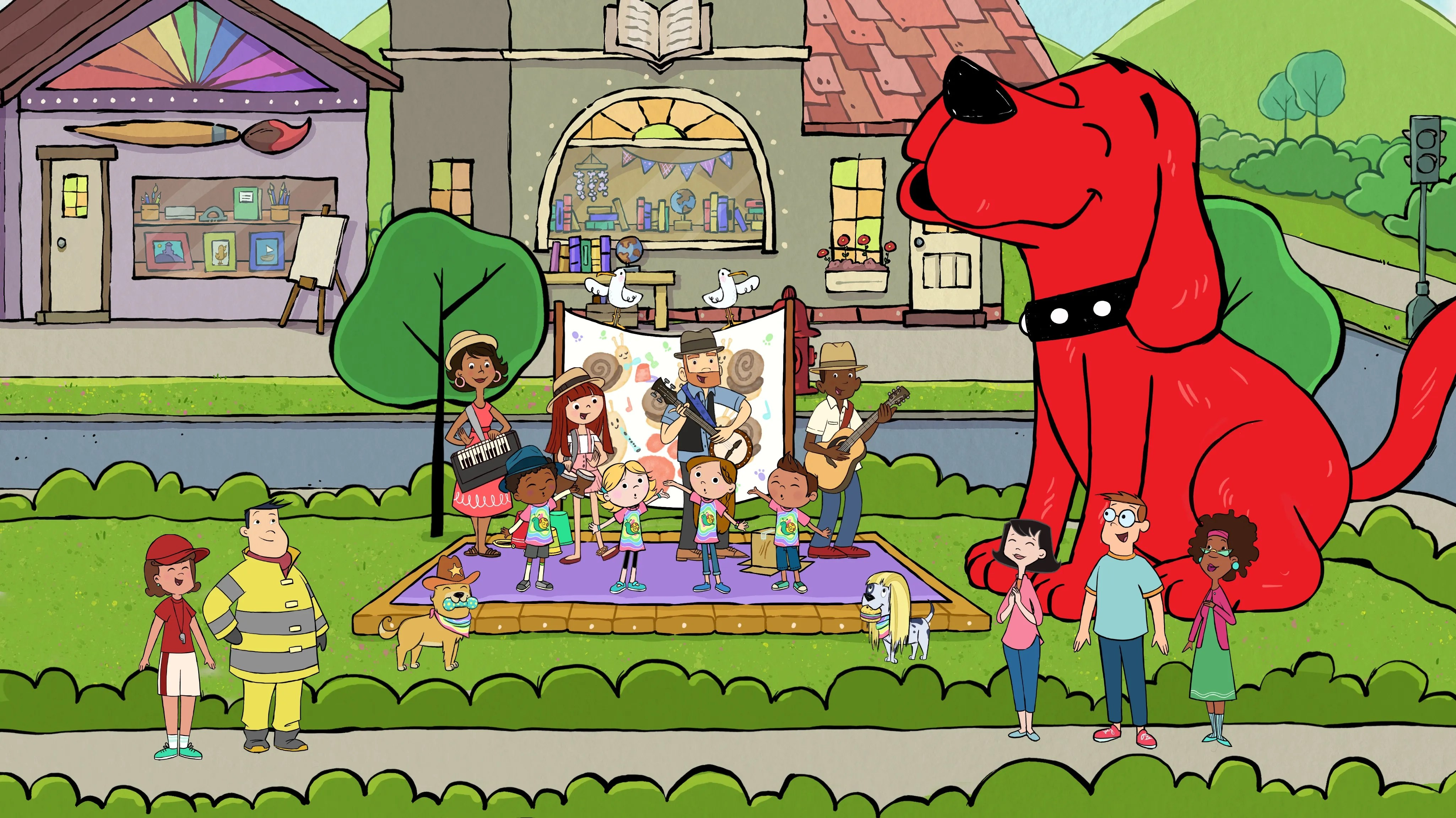 Clifford The Big Red Dog Sneak Peek Of The New Amazon