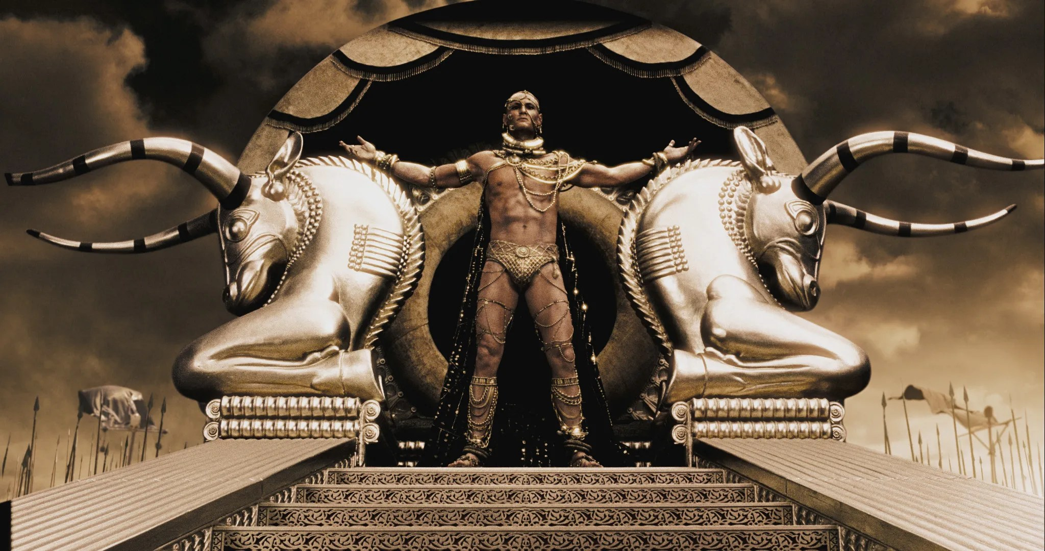 Image result for 300 the movie golden man