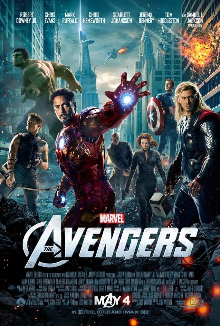 Resultado de imagem para avengers movie poster