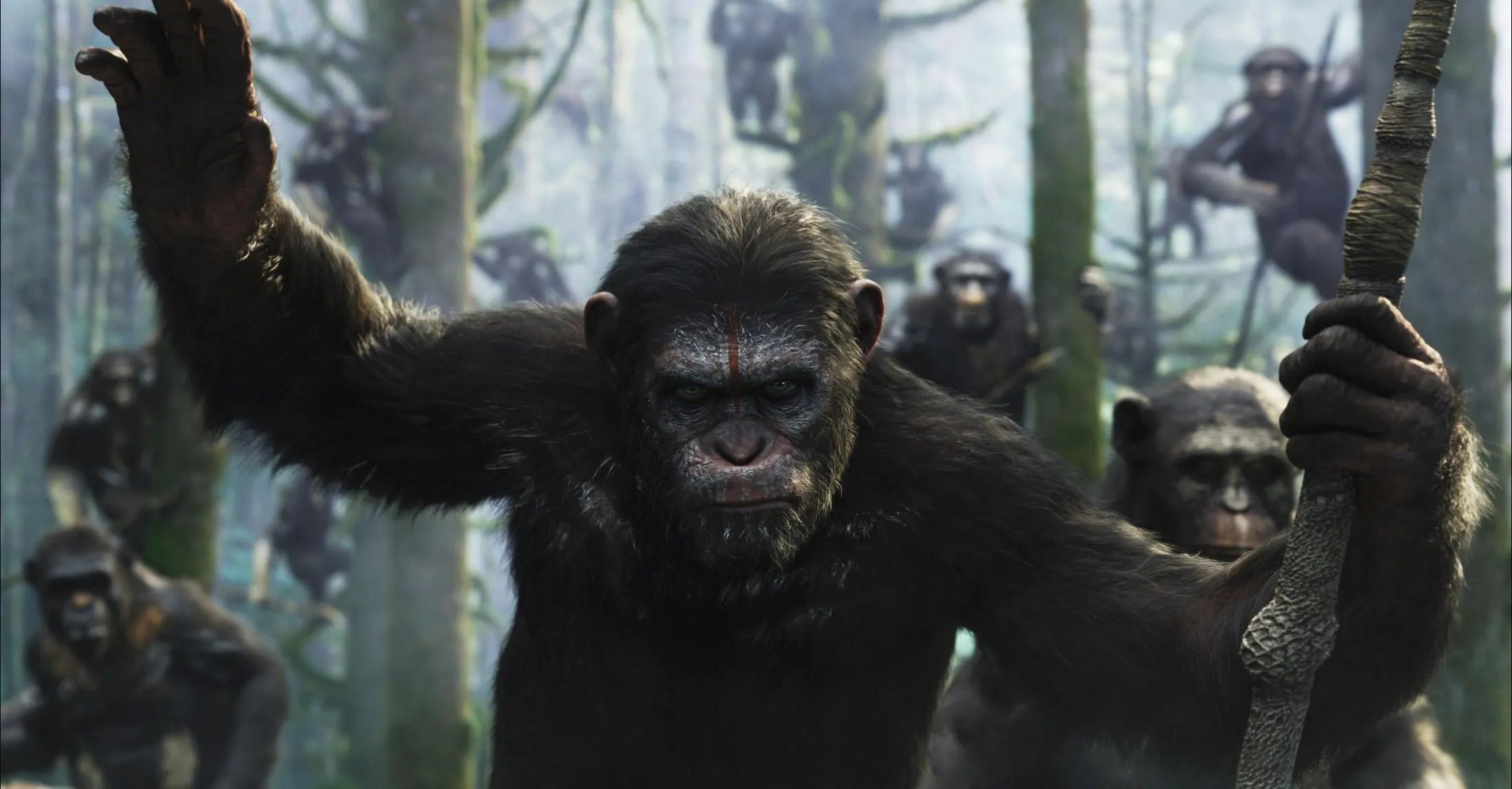 Αποτέλεσμα εικόνας για dawn of the planet of the apes