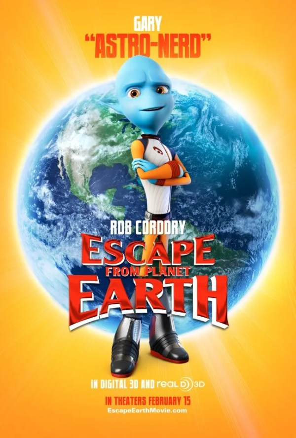 ESCAPE FROM PLANET EARTH Posters and Clips Collider