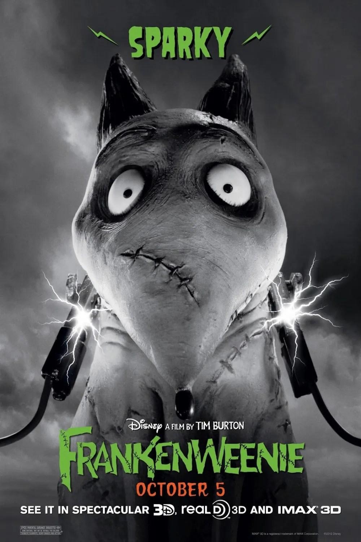 Poster do filme Frankenweenie
