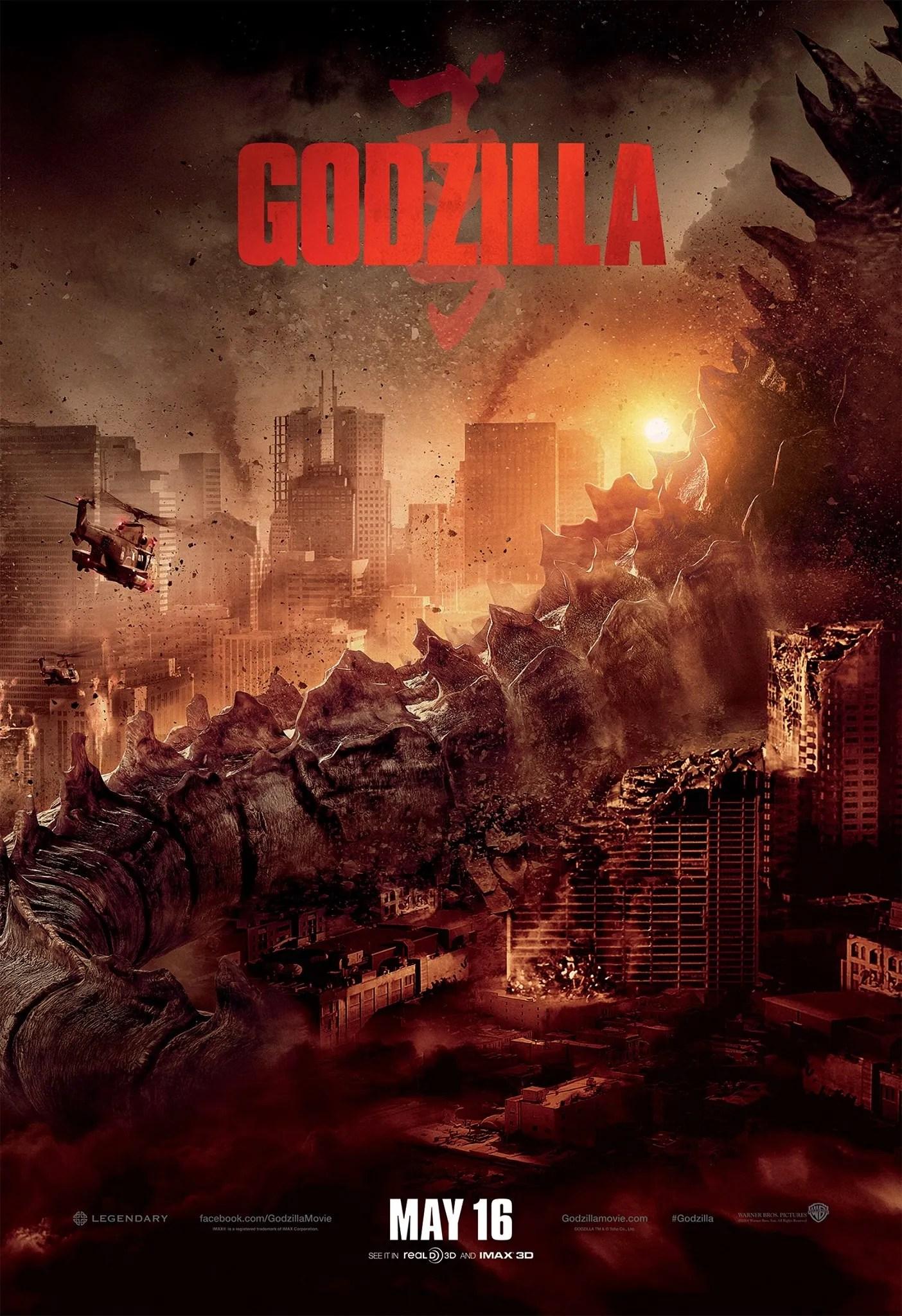 Poster do filme Godzilla