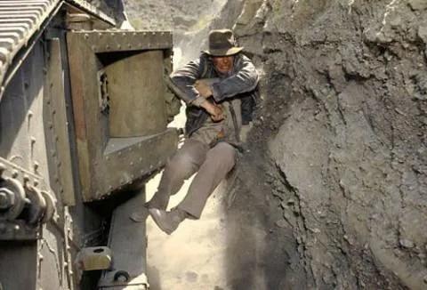 Image result for Indiana jones tank scene