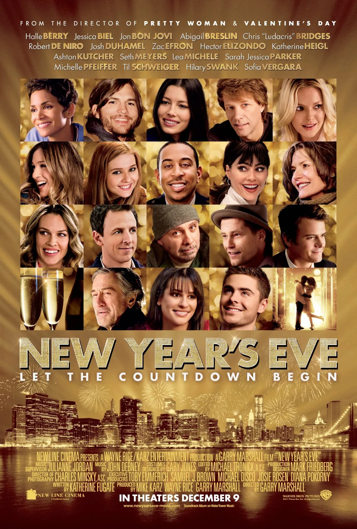 THE RUM DIARY Movie Poster NEW YEAR S EVE Movie Poster   Collider new years eve movie poster 02