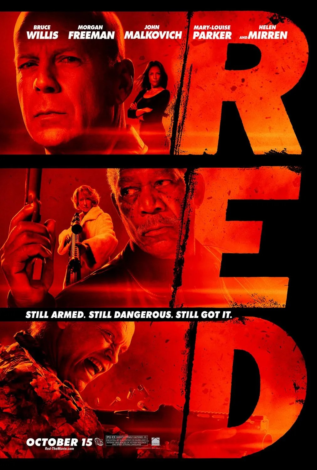 Image result for R.E.D. poster