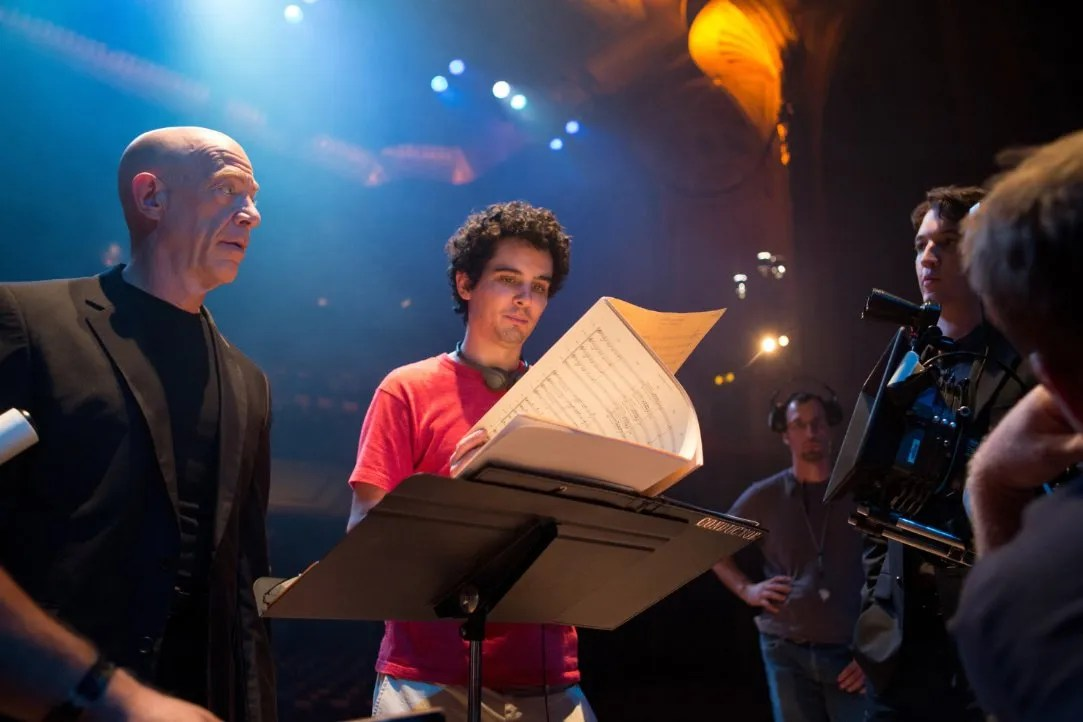 Image result for Damien Chazelle and J.K. Simmons
